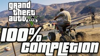 Grand Theft Auto 5 100% COMPLETION GUIDE Career