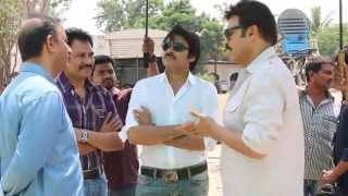 Gopala Gopala Movie Making - Venkatesh Pawan Kalyan
