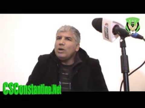 الندوة الصحفية لمحمد بولحبيب 29/11/2013 : تعيين حميتي السعيد كمدير عام للشركة