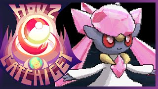 How & Where To Catch/get Diancie W/Mystery Gift In