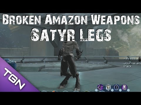 DCUO - DLC10 - Broken Amazon Weapons [Reward]