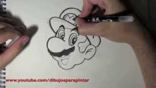Cómo Dibujar A Mario Bros Paso A Paso Fácilmente