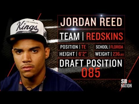 Redskins Rookie Jordan Reed on Beyoncé, Rehabbing with RGIII (2013 NFLPA Rookie Premiere)