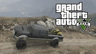 GTA 5: How To Load Things Into Your Truck (Grand Theft