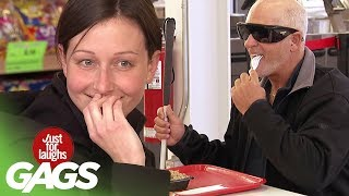 Skrytá kamera - Ľudia kradnú jedlo