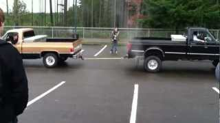 Ford Vs. Chevy Truck Pull