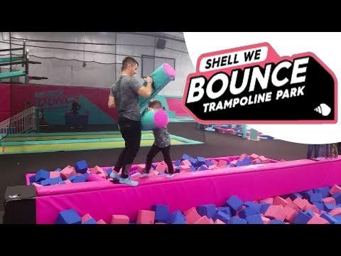 SHELL WE BOUNCE FUN | TRAMPOLINE PARK | JUSTY ODYSSEY TV