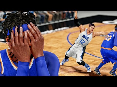 NASTY ANKLE BREAKING CROSSOVER CANT WATCH! NBA 2k16 My Career Gameplay Ep. 52