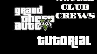 GTA 5 How To Join A Social Club Crew
