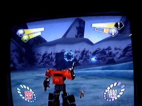 Transformers Armada PS2 - Optimus Prime vs Starscream