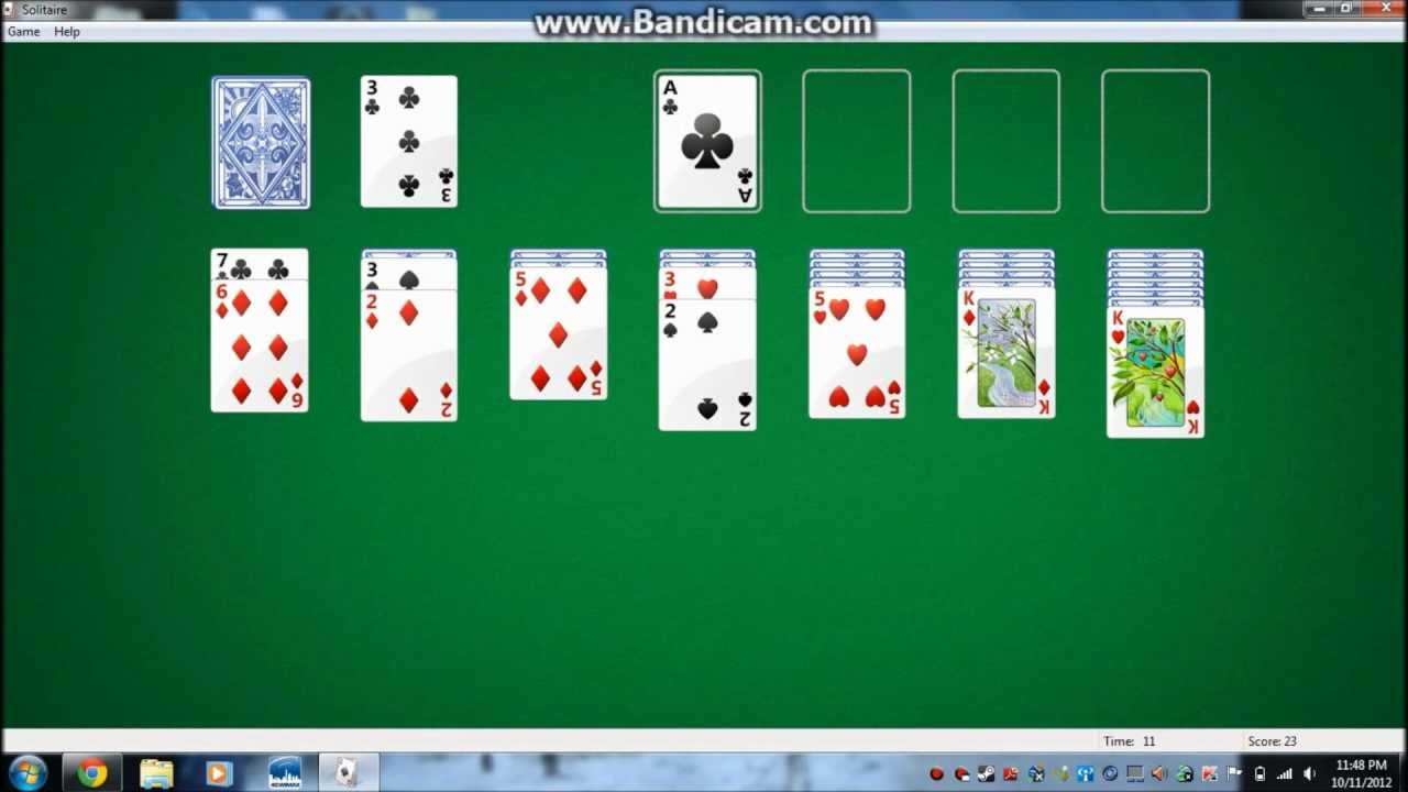 find solitaire game