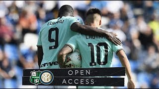 OPEN ACCESS | SASSUOLO 3-4 INTER | TWO PLUS TWO ALWAYS EQUALS FOUR!  📹⚫🔵??