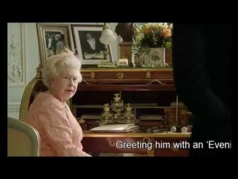 Daniel Craig James Bond 007 & The Queen - London Olympics Opening Ceremony 2012 HD