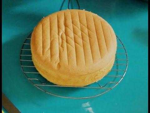 Hướng dẫn làm Bánh bông lan cơ bản - Sponge cake