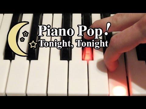 Tonight, Tonight Piano Lesson - Hot Chelle Rae - Easy Piano Tutorial