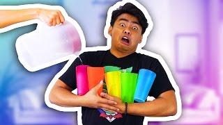 CUPS THAT MAKE WATER TASTE LIKE FRUIT!