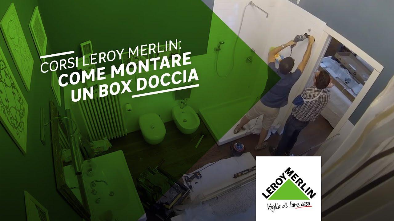 Chiama l 39 esperto di box doccia leroy merlin youtube for Cabine doccia multifunzione leroy merlin