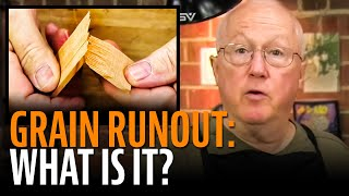 Watch the Trade Secrets Video, Grain runout made this guitar bridge pop off!