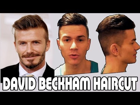 Причесон за 5 минут | David Beckham Hairstyle [ Fresh Haircut ]