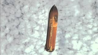 Endeavour's External Tank Falls Away