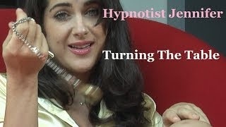Female Hypnotist Jennifer; Turning The Table #hypnosis