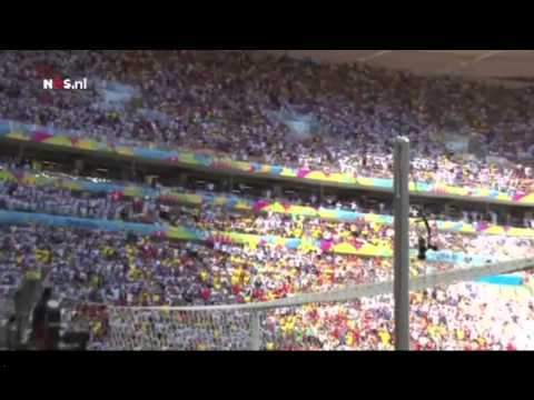 The Argentina Coach Sabella Funny Reaction After Higuain Misses Chance #BRUHMOMENT