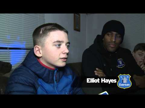 Day 2: Sylvain Distin surprises Elliot as Everton turn the streets Blue again!