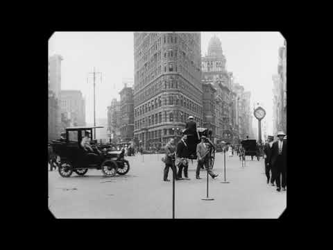 New York v roku 1911