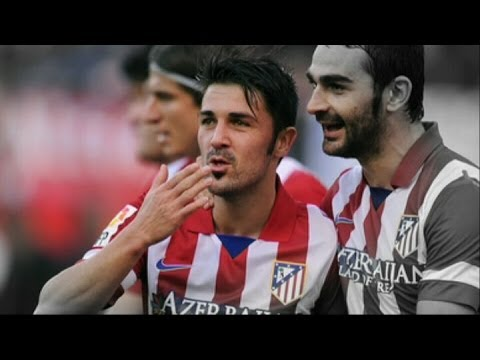 David Villa ► Perfect time ► David Villa All Goals for Atlético 2013