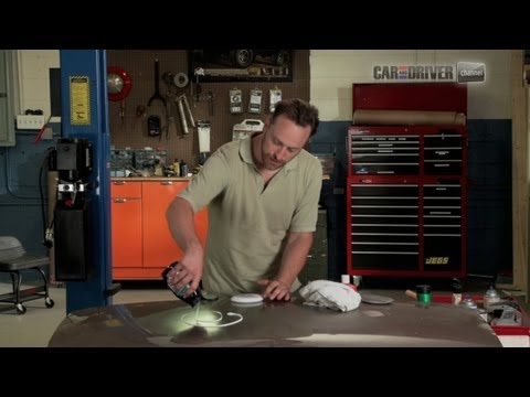 How to Repair a Dent with Bondo
