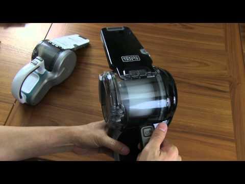 Black & Decker 20v Lithium Pivot Hand Held Vacuum
