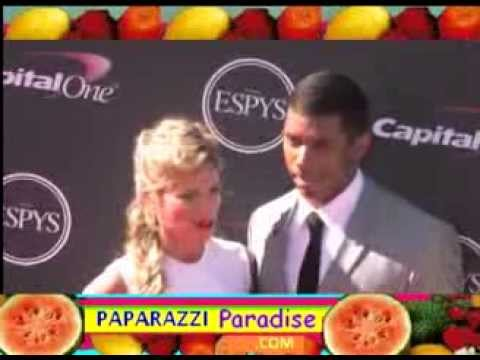 Seattle Seahawk's RUSSELL WILSON brings wife ASHTON to ESPY Awards