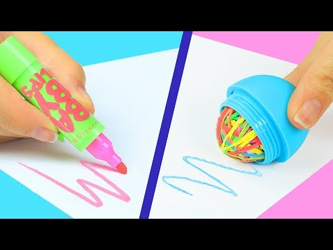12 DIY Weird Back To School Supplies You Need To Try  12 Back To School Pranks