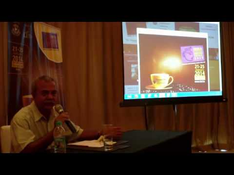 4 / 10 India International Coffee Festival 2014 press briefing Ramesh P Rajah