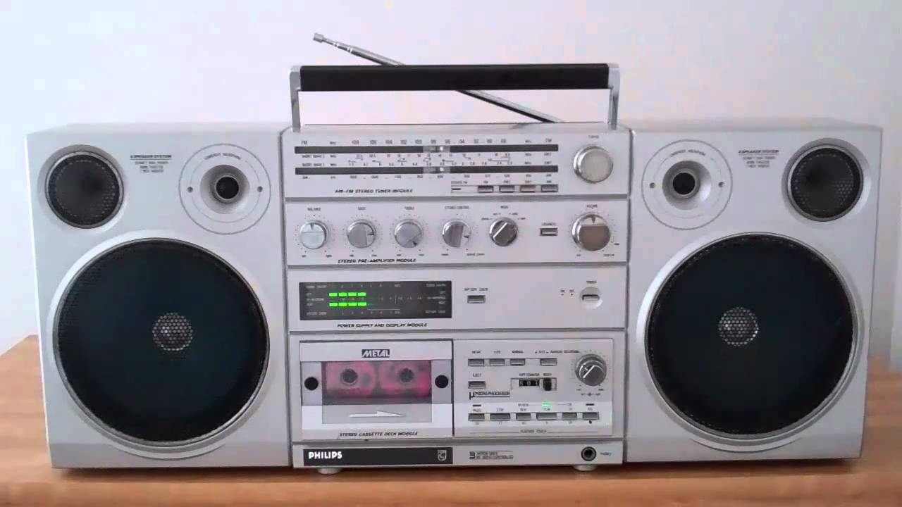 philips d8623 boombox ghettoblaster collection youtube. Black Bedroom Furniture Sets. Home Design Ideas