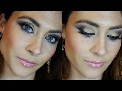 Tutorial maquillaje fiesta de noche ❄ Glam night out party makeup tutorial
