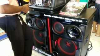 Novo Mini System LG X-BOOM CM9730 Com 2000 Watts RMS De