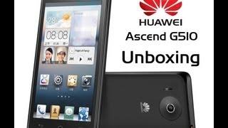 Unboxing Huawei Ascend G510 Español
