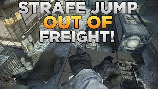 Call Of Duty: Ghosts Strafe Jump Out Of Freight! (Out Of