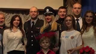 Виступ колективу художньої самодіяльності факультету № 6 ХНУВС