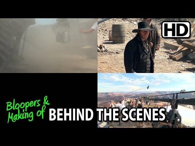 The Lone Ranger (2013) Making of & Behind the Scenes (Part3/4)