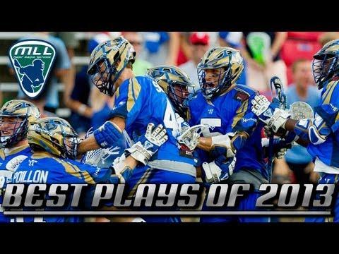 Major League Lacrosse: Best Plays of 2013