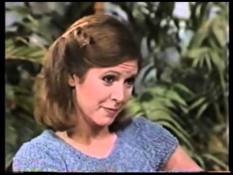 Vintage Carrie Fisher Empire Strikes Back Interview