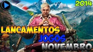 """Lançamentos De Jogos Mês De """"Novembro"""" 2014"""