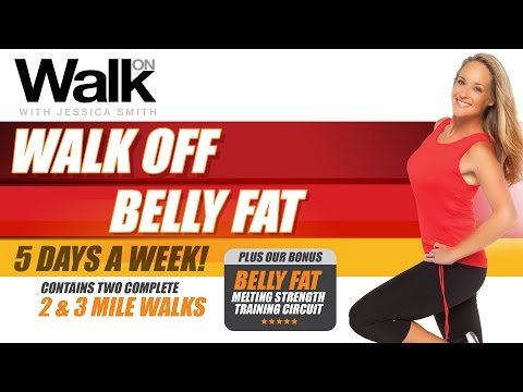 Walk On: Walk Off Belly Fat - 5 Days A Week! - with Jessica Smith