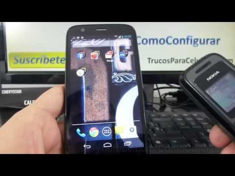 Como cambiar el tono de mi Motorola Moto G X T1032 En Español Full HD