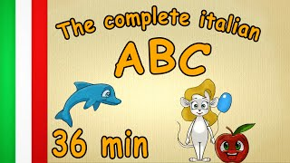 36 min - The complete italian ABC - learn italian