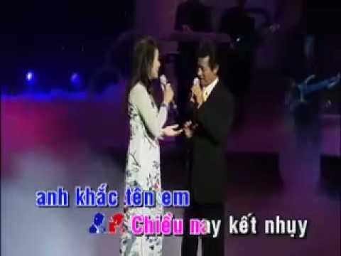 [Karaoke] Hái Hoa Rừng Cho Em -  Thiên Trang & Chế Linh