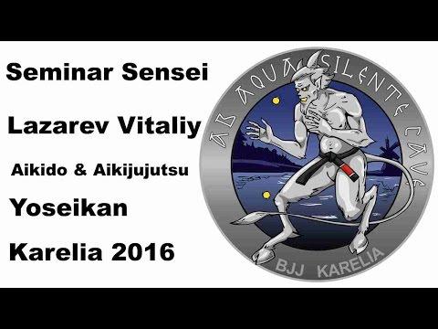 Demonstration 20: sensei Lazarev Vitaliy Aikido & Aikijujutsu Yosekan Russia
