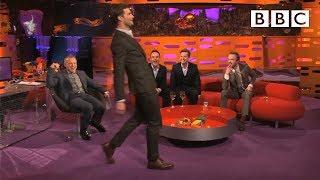 Jamie Dornan's funny walk - The Graham Norton Show: Series 14 Episode 18 Preview - BBC One